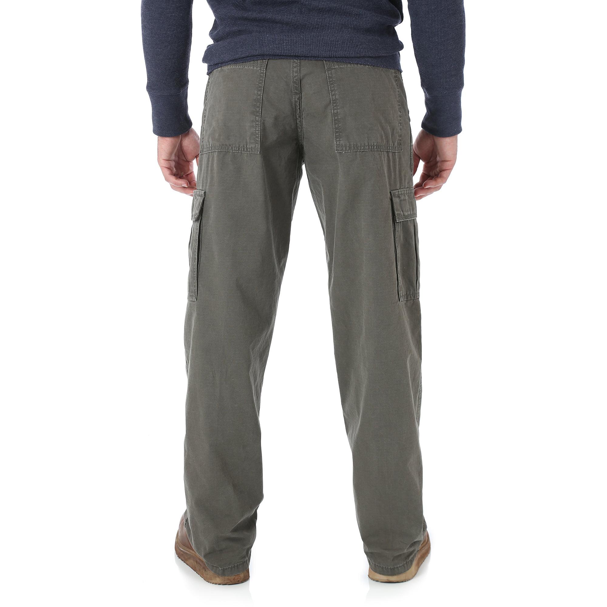 Wrangler - Big Men's Rip-Stop Cargo Pants - Walmart.com