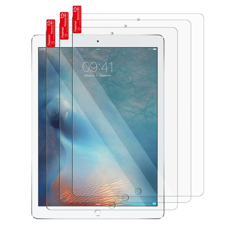 Insten 3-Pack iPad Pro 10.5 (2017) Screen Protector Clear Fully Protect Screen Protector LCD Film For Apple iPad Pro 10.5