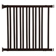 """Dreambaby Nelson Expandable Wooden Walk Through 30""""-48"""" Baby Gate"""