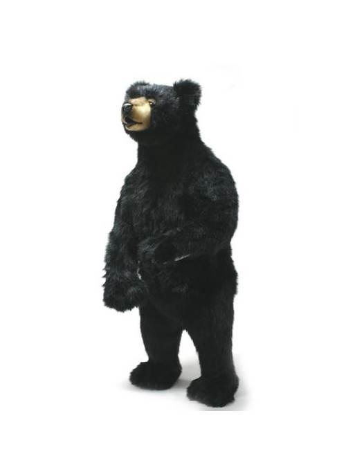 Standing Upright Black Cub Bear Plush Stuffed Animal by Hansa Toys USA c/o Mark Roberts Fulfillment
