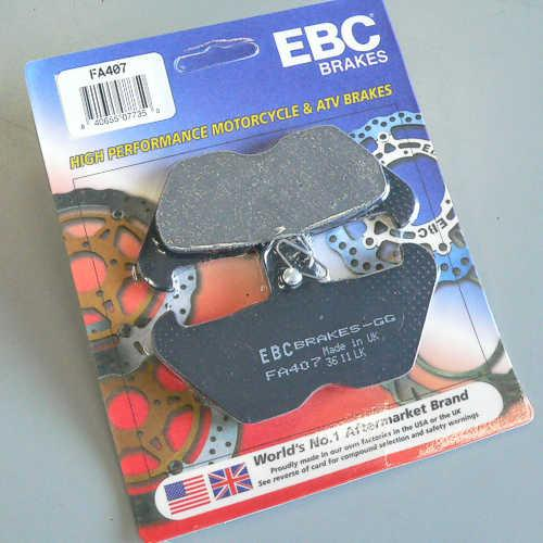 EBC Organic Brake Pads Front (2 sets required) Fits 96-00 BMW K1200RS