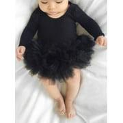Cute Newborn Baby Girl Tutu Romper Jumpsuit Bodysuit Dress Clothes Headband Outfit Sets