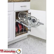 "Pot And Pan Lid Organizer For 15"" Base Kitchen Cookware Cabinet Pullout Mplo15-R"