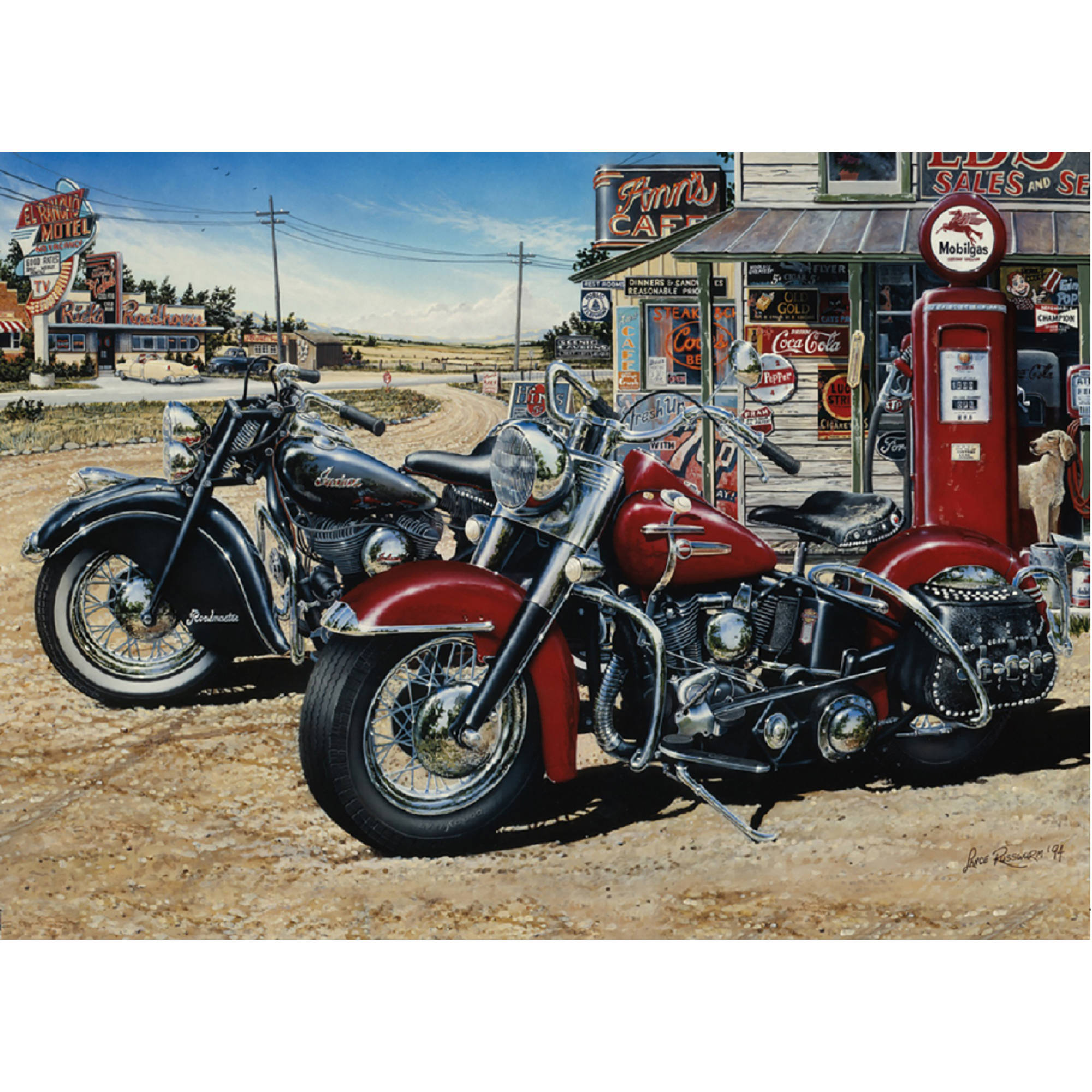 Cobble Hill: Two for the Road 1000-Piece Jigsaw Puzzle