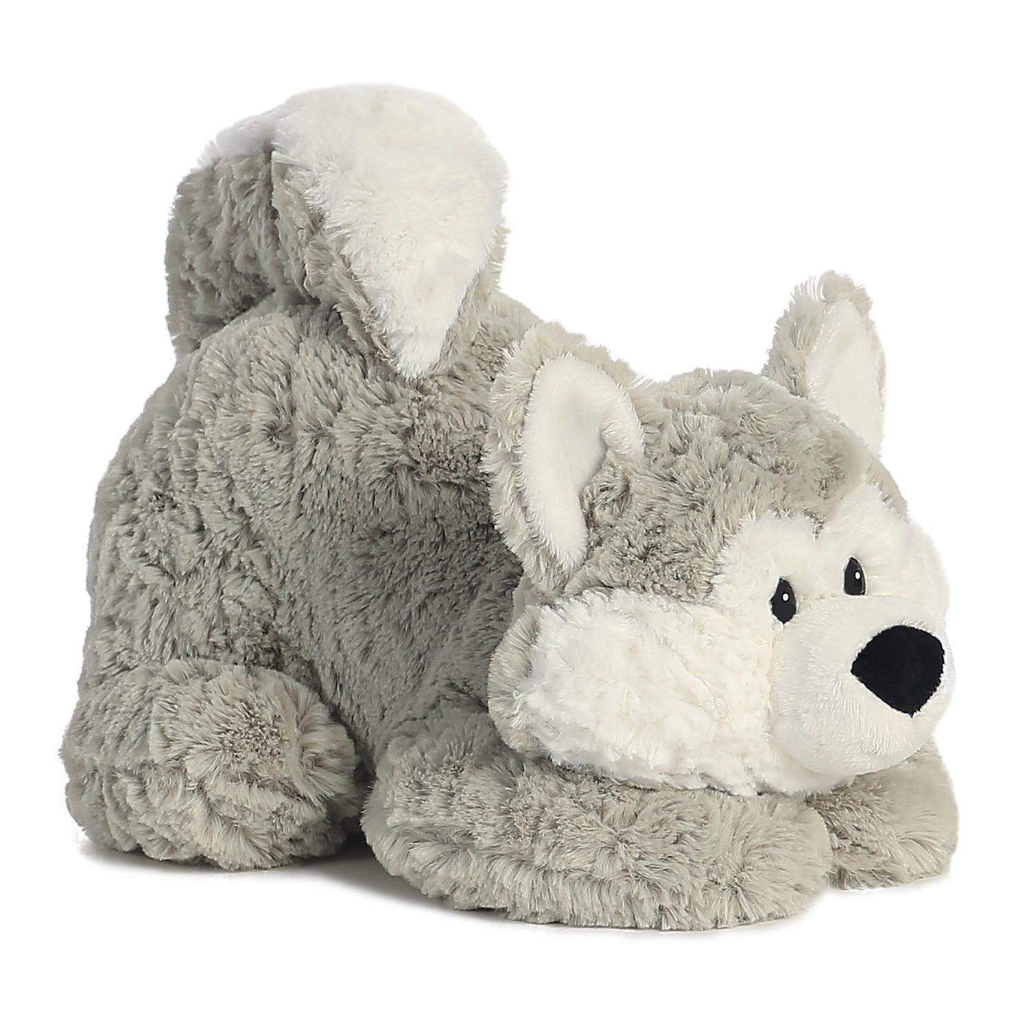 Howler Husky Tushies 11 inch - Stuffed Animal by Aurora Plush (16852)