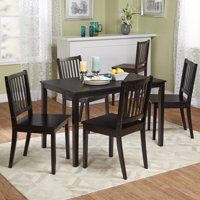 Shaker 5-Piece Dining Set, Multiple Colors
