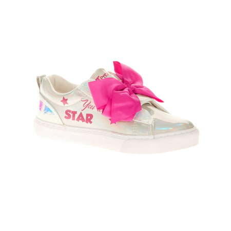 Jojo Siwa Girl's Iridescent Low Top Casual Sneaker