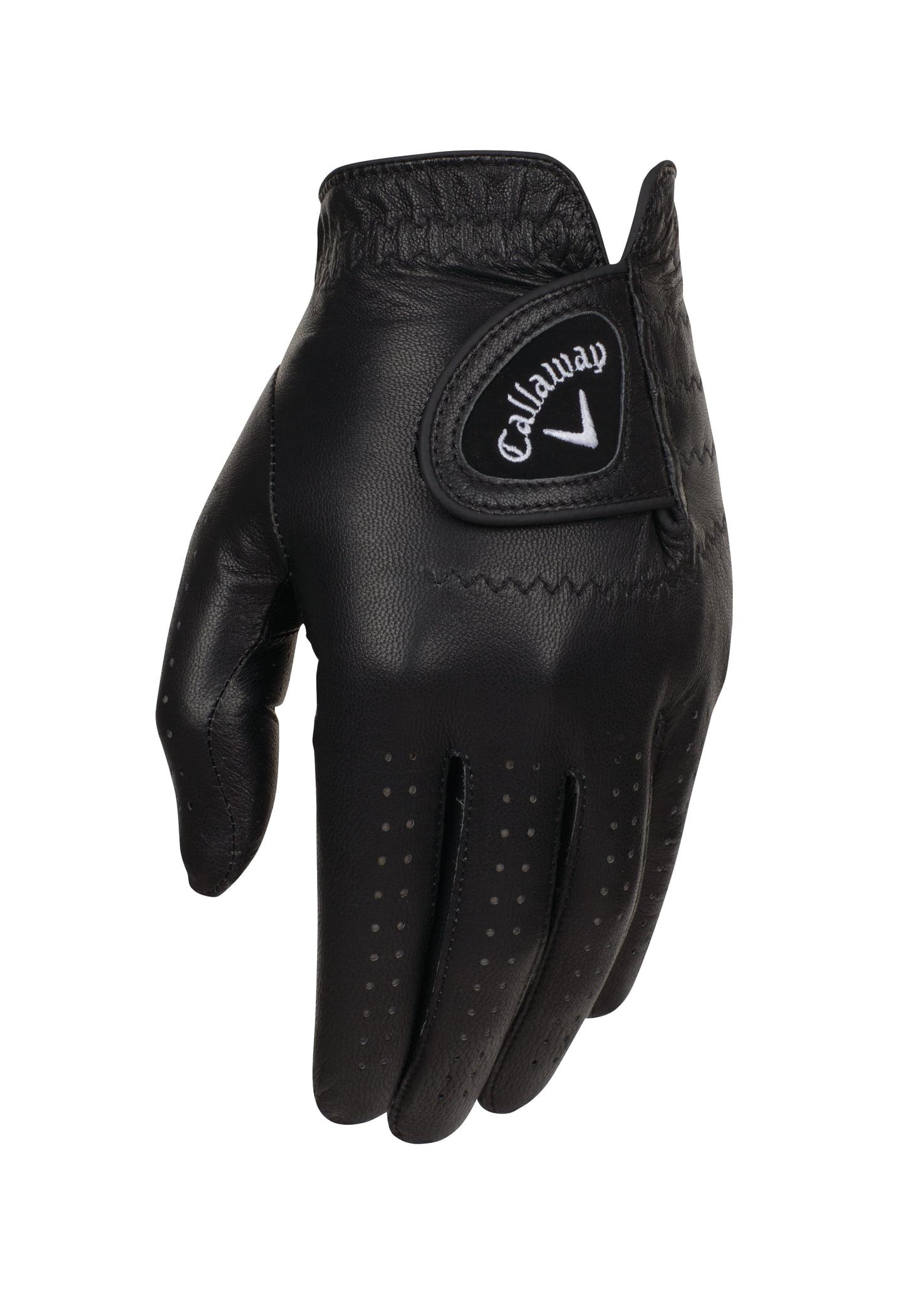 NEW Callaway Opti-Color Black Men's Regular Left Large Golf Glove