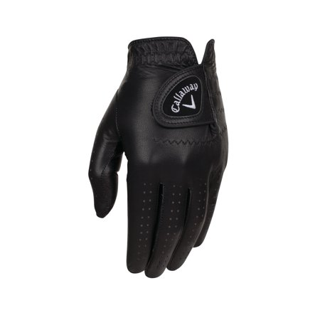 NEW Callaway Opti-Color Black Mens Regular Left Large Golf Glove