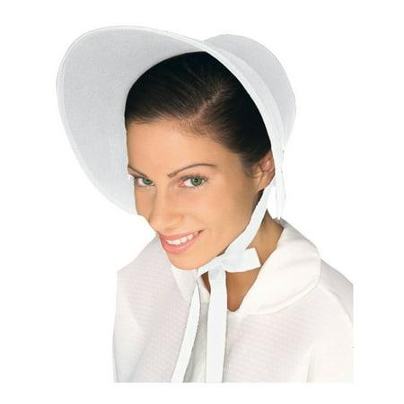 Halloween Felt Bonnet White](Felt Halloween Bag Pattern)