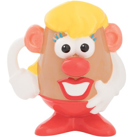 Mrs. Potato Head Coffee Mug Classic Toy 20 Ounce Ceramic Tea Cup w/ Gift Box (Classic Coffee Mug)