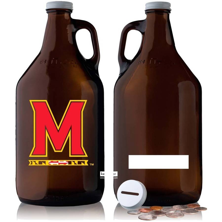 NCAA Maryland Terrapins 64 oz Amber Jug