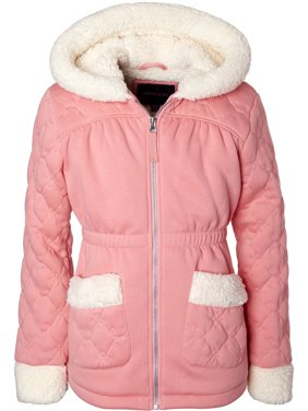Limited Too Toddler Girl Embroidered Sherpa Jacket Coat