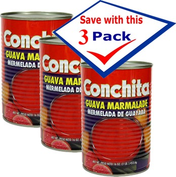 Conchita guava marmalade 16 oz Pack of 3