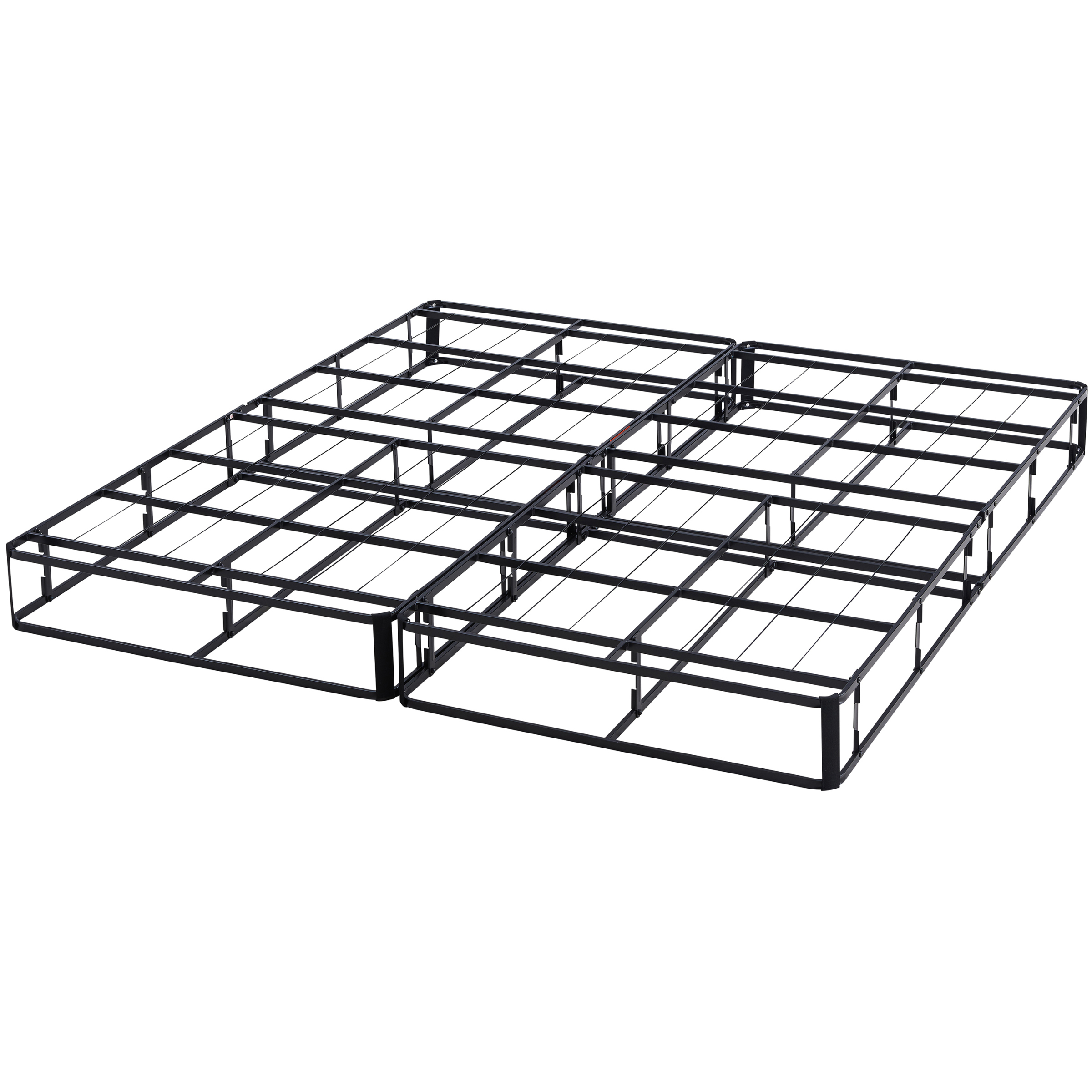 "Mainstays 7.5"" Half-Fold Metal Box Spring, Black Steel by Changtai Campvalley Leisure Product Co., Ltd"