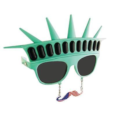 6cd18cb30074 IN-13687084 Sun-Stache Statue of Liberty Glasses - Walmart.com