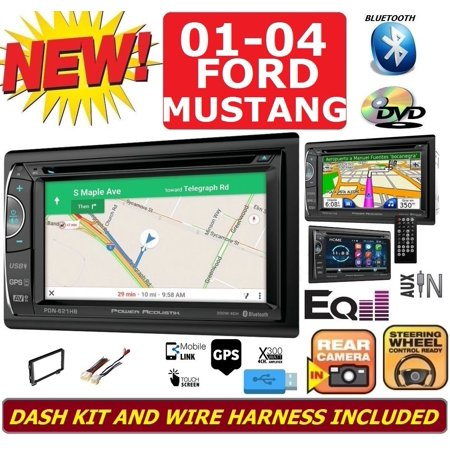 01 02 03 04 Ford Mustang Navigation Bluetooth Dvd Video Cd Usb Aux Radio Stereo