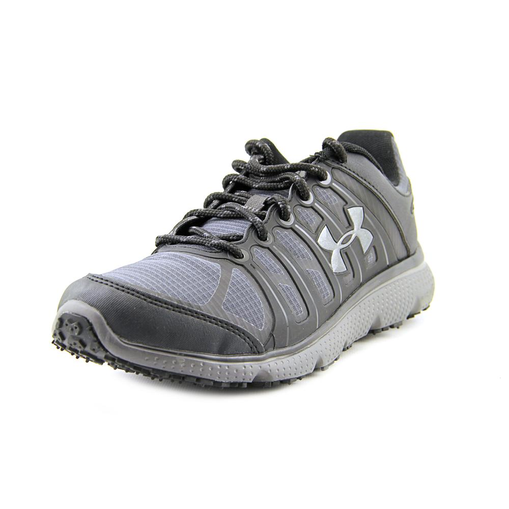 Under Armour Micro G Pulse II Grit Men  Round Toe Synthet...