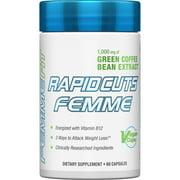 FEMME  Rapidcuts Femme  Green Coffee Extract   Vitamin B12  1 000 mg  60 Vegan Caps