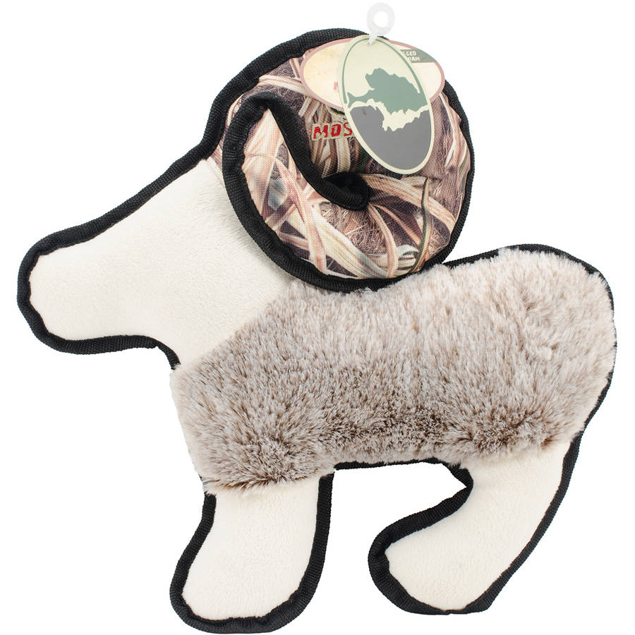 R2P Mossy Oak Goat Dog Toy, Large, Multicolor