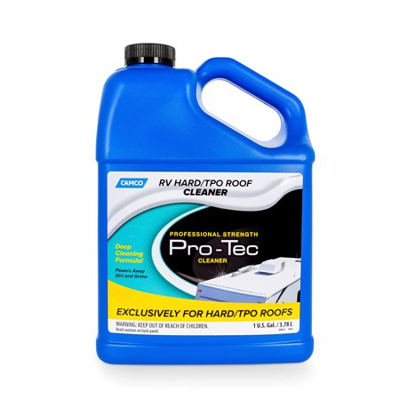 Camco Pro-Tec Cleaner for Specially Formatted TPO Deep Cleansing Formula Rids Dirt and Grime and Helps to Extend The Life of Your RV's Roof (T & B Sales Advanage Wonder Cleaner)