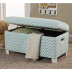 10 Spring Street Streeter Storage Bench Multiple Colors