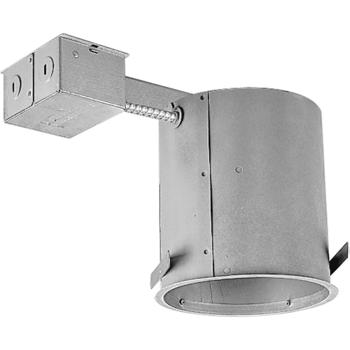 """Progress Lighting P187-TG 6"""" Remodel Recessed Housing - IC and Non-IC Rated"""