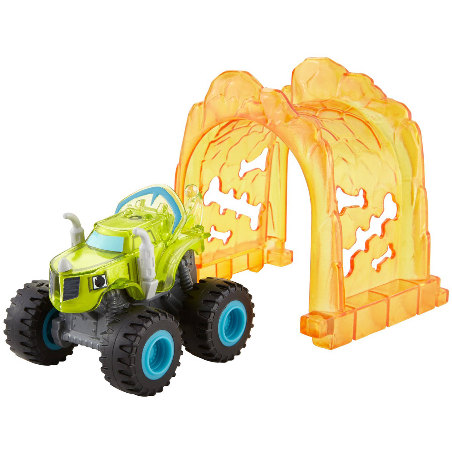 Nickelodeon Blaze and the Monster Machines Light Rider Zeg by FISHER-PRICE BRANDS A DIVISION OF MATTEL DIRECT IMPORT INC