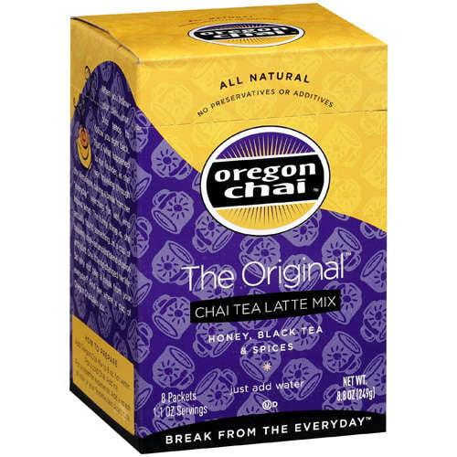 Oregon Chai Original Chai Tea Latte Mix, 8 ct/8.8 oz