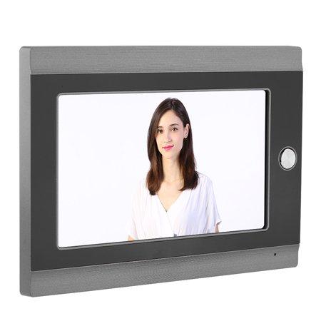 Anauto Doorbell Intercom Entry System, Wifi   Doorbell,7  Inch Wired Wifi IP Video Door Phone Peephole Doorbell Intercom Entry System Remote  APP