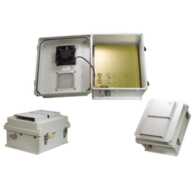 Hana Wireless HW-N14-1HF 120 VAC 14 x 12 x 7 in. Weatherp...