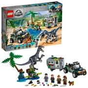 LEGO Jurassic World Baryonyx Face-Off: The Treasure Hunt 75935 Dinosaur Truck Toy