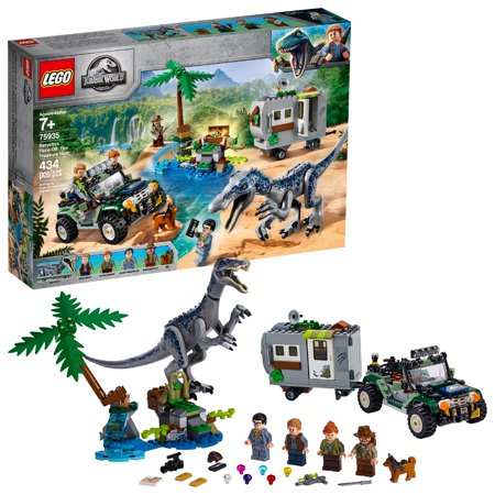 LEGO Jurassic World Baryonyx Face-Off: The Treasure Hunt 75935 Dinosaur Truck Toy