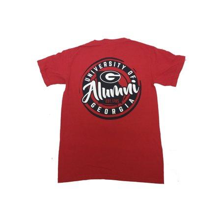 Georgia Bulldogs Circle Stamp Alumni T-Shirt