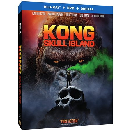 Kong  Skull Island  Blu Ray   Dvd