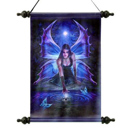 Design Toscano Immortal Flight Gothic Fairy by Anne Stokes Graphic Art on Canvas