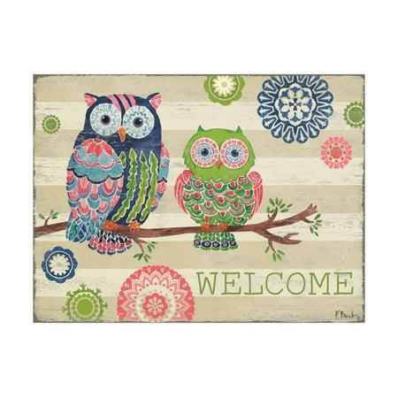 Groovy Owls I Print Wall Art By Paul Brent](Thirty One Owl Print)