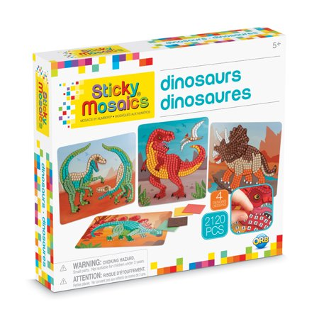 The Orb Factory Sticky Mosaics Dinosaurs Kit