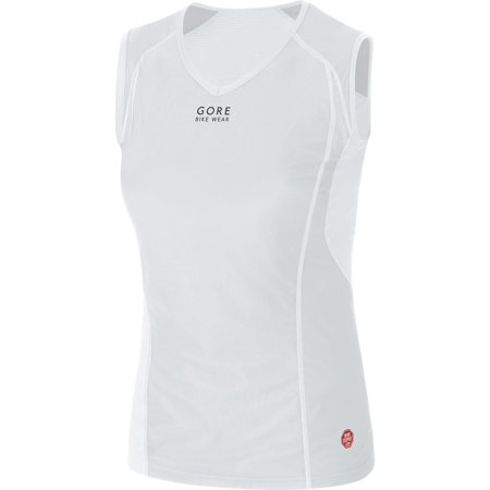 Gore Bike Wear Women's Base Layer Windstopper Lady Singlet Light Grey/White