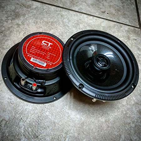 CT Sounds Strato 6.5 Inch Coaxial Car Speaker Set (Best Sounding 6.5 Coaxial Car Speakers)