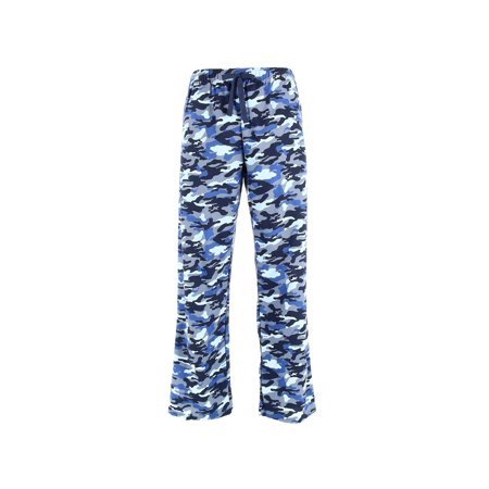 - Men's Camouflage Print Flannel Pajama Pants