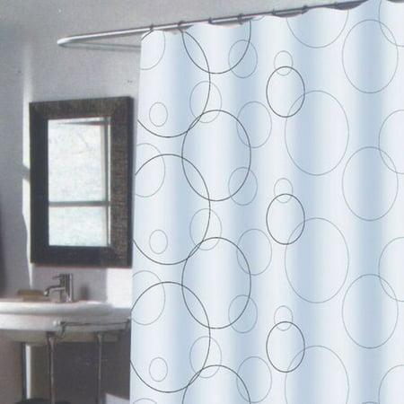 Carnation Extra Long Shower Curtain Ava