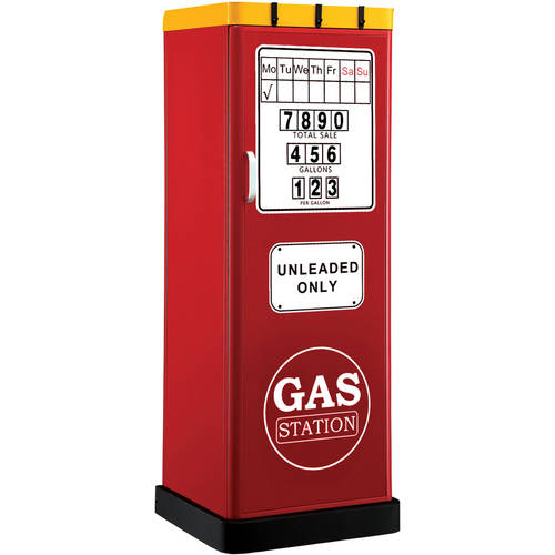 Furniture of America Vallero Single Door Gas Station Closet