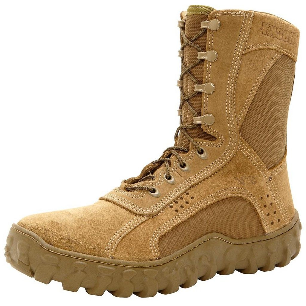 Rocky S2V Steel Toe Tactical Military Boot