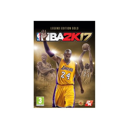 47862 NBA 2K17 Legend Edition Gold PS4