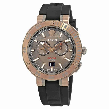 Versace V-extreme Brown Dial Mens Watch VCN030017 (Watches Men Versace)