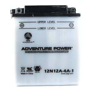 UPG 41544 12N12A-4A-1, Conventional Power Sports Battery