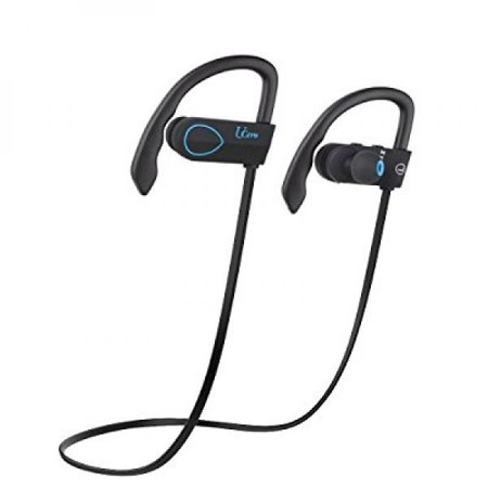 424565f4682 UCero Upgraded BH-02 Bluetooth 4.1 Headphones Wireless Waterproof IPX5  Earhook with Mic and APT