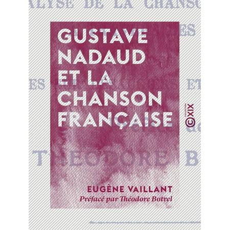 Gustave Nadaud et la chanson française - eBook](La Chanson D'halloween)