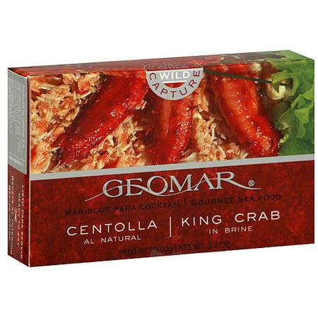Geomar King Crab In Brine, 3.2 oz (Pack of 12)